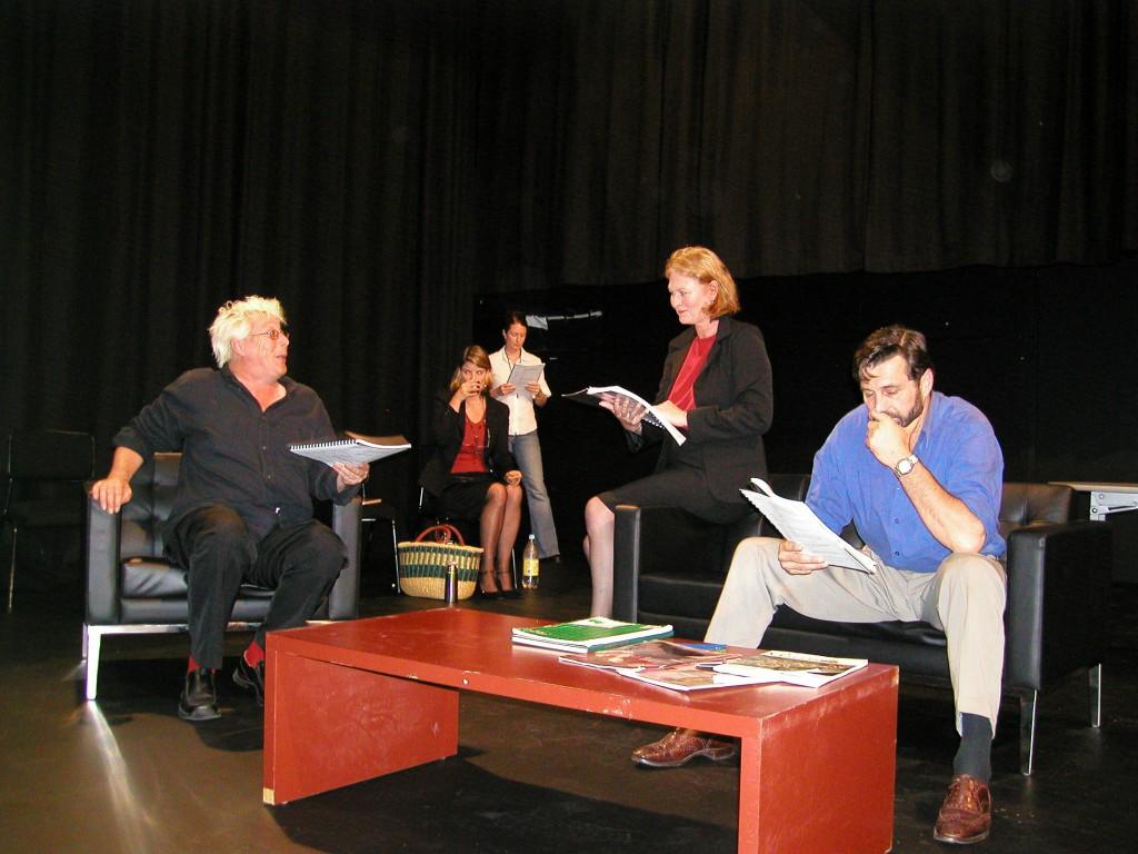 'Derrida in Love' play reading workshop