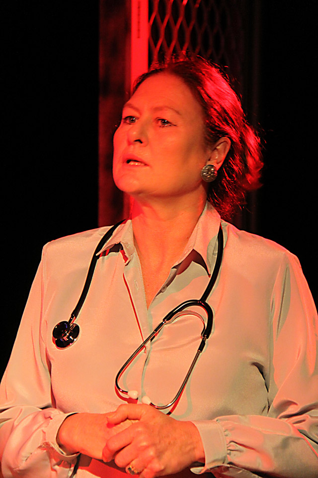 as Dr Alex in 'The Blonde, The Brunette and The Vengeful Redhead'