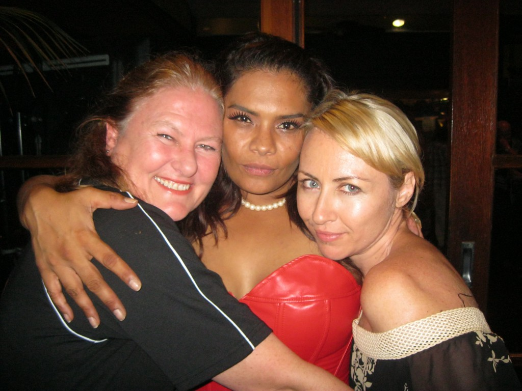 With Lisa and Mouche - Wrap Party, 'Gods of Wheat Street'
